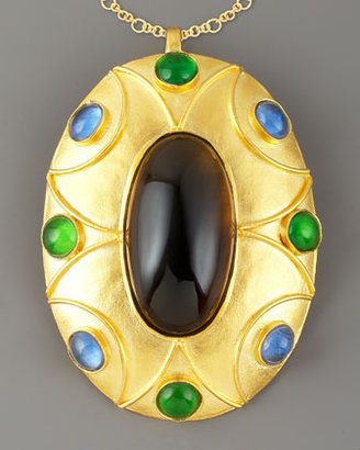 Stephanie Kantis Gold-Plated Czar Pendant