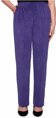 Alfred Dunner Petite Classics Corduroy Straight-Leg Pants