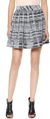 Alice + Olivia Kayla Box Pleat Skirt