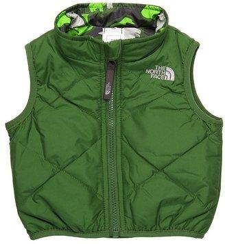 The North Face Kids - Reversible Perrito Vest (Infant) (Conifer Green/Conifer Green Print) - Apparel