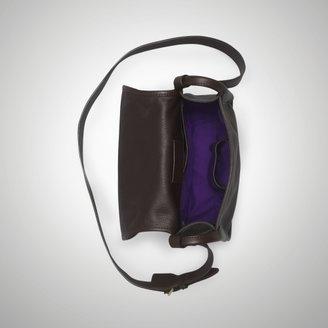Ralph Lauren Tumbled Leather Cross-Body
