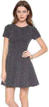Tibi Short Sleeve Dress