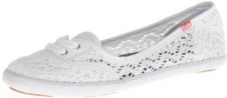 Keds Women's Teacup Crochet Fashion Flat Shoe $34.97 thestylecure.com