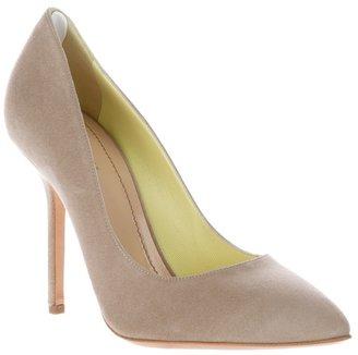 Pollini Suede court shoe