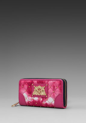 Juicy Couture Nylon Zip Wallet