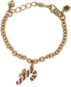 Juicy Couture Kids Candy Cane Wish Bracelet
