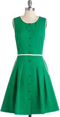 Greenery Greetings Dress