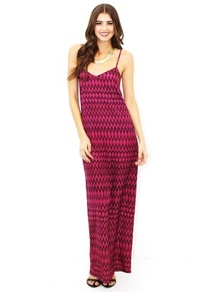 Flynn Skye Slip Maxi Dress In Purple Ziggy