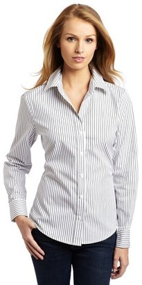 Chaus Women's Wrinkle Free Stripe Shirt