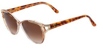 Valentino tinted sunglasses