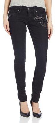 Levi's 524 Embellished Skinny Jeans