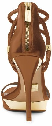 Michael Kors Fariha Leather Platform Sandal