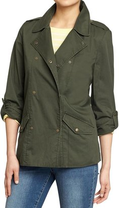 Old Navy Women's Lightweight Double-Breasted Jackets