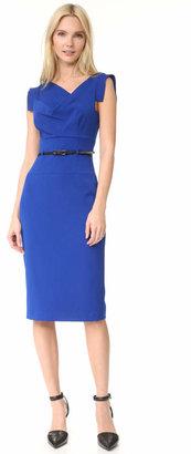 Black Halo Jackie O Belted Dress $345 thestylecure.com