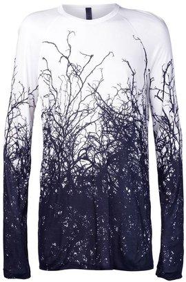 Gareth Pugh long sleeve root shirt