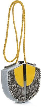 Diane von Furstenberg Sandalwood box-clutch