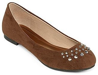 totes Stud-Accented Ballet Flats