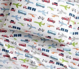Pottery Barn Kids Organic Brody Sheet Set & Pillowcases