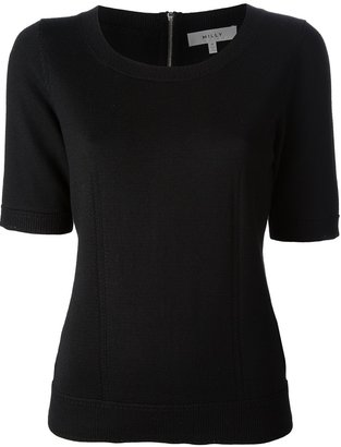 Milly zip back sweater