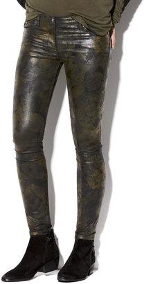 Vince Tonal Floral Straight Leg Jean