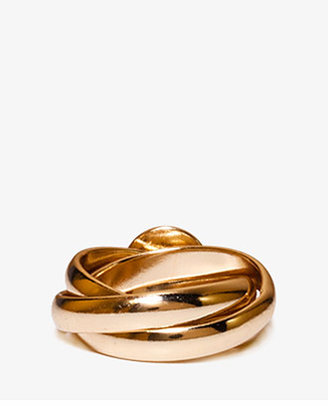 Forever 21 Spiked Metal Ring Set