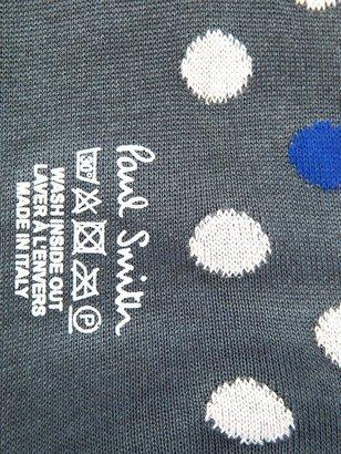 Paul Smith Spot-print cotton socks