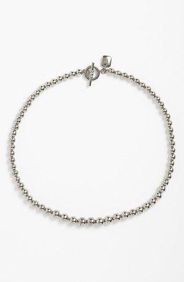 Lauren Ralph Lauren Graduated Metal Bead Necklace