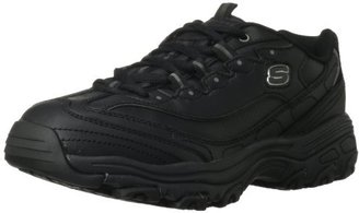 Skechers for Work Women's D'Lites Slip Resistant Sneaker $32.71 thestylecure.com
