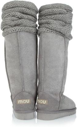Mou Bandeau Cuff shearling boots