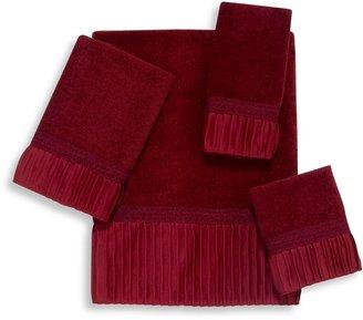 Avanti Glimmer Bath Towel Collection in Brick