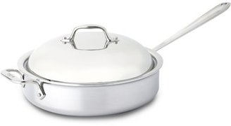 All-Clad 4-qt. Stainless Steel Stainless Saute Pan with Domed Lid