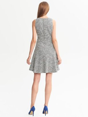 Banana Republic Textured Drop-Waist Dress
