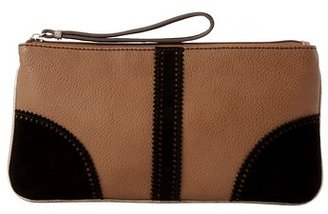 LOFT Scalloped Suede Pouch
