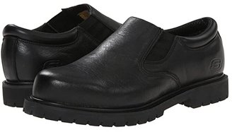 Skechers Cottonwood Goddard (Black) Men's Industrial Shoes