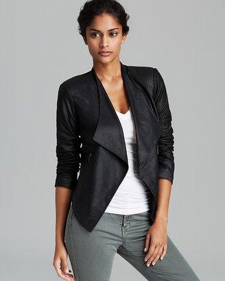 BB Dakota Jacket - Channelle Sharp Shoulder Leather