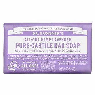 Dr. Bronner's All-One Hemp Pure-Castile Soap Bar Lavender