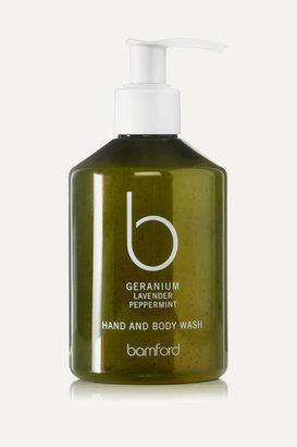 Bamford Geranium Hand & Body Wash, 250ml