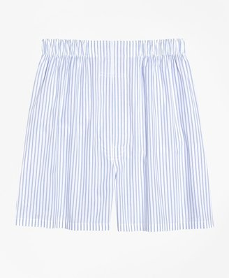 Brooks Brothers Slim Fit Ground Stripe Boxers