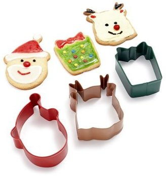Wilton Holiday Cookie Cutters, Set of 3