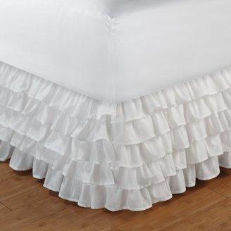 Tiered Ruffle Bedskirt - Full