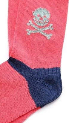 Corgi Skull & Crossbones Socks