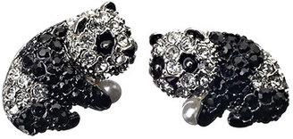 Andrew Hamilton Crawford Panda Stud Earrings