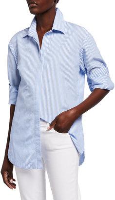 Finley Striped Boyfriend Shirt