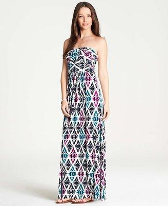 Ann Taylor Tall Mosaic Maxi Dress