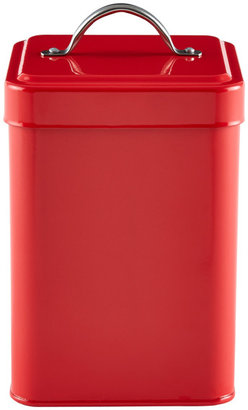 Container Store Tea Canister Red