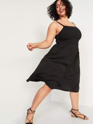 Old Navy Smocked Fit & Flare Cami Plus-Size Midi Dress