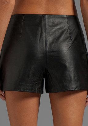 Trina Turk Soft Lamb Leather Link Short