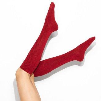 Vera Wang Simply vera cable knee socks