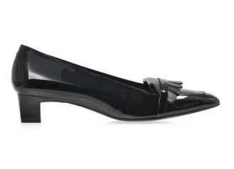 Robert Clergerie Georges fringe patent-leather pumps