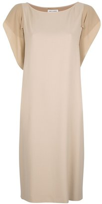 Saint Laurent short sleeve shift dress